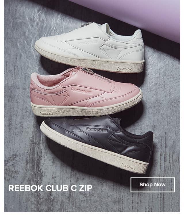 reebok club c zip