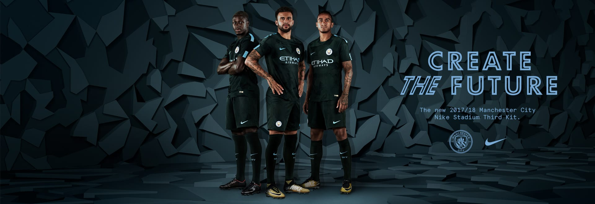 Nike Manchester City Third Kit
