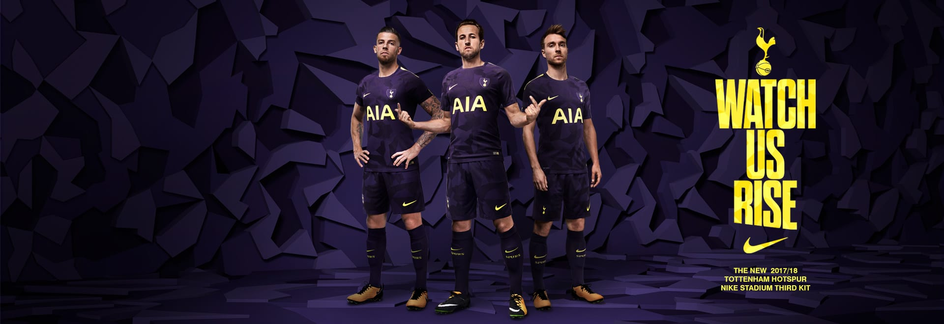 Nike Tottenham Hotspur Third Kit