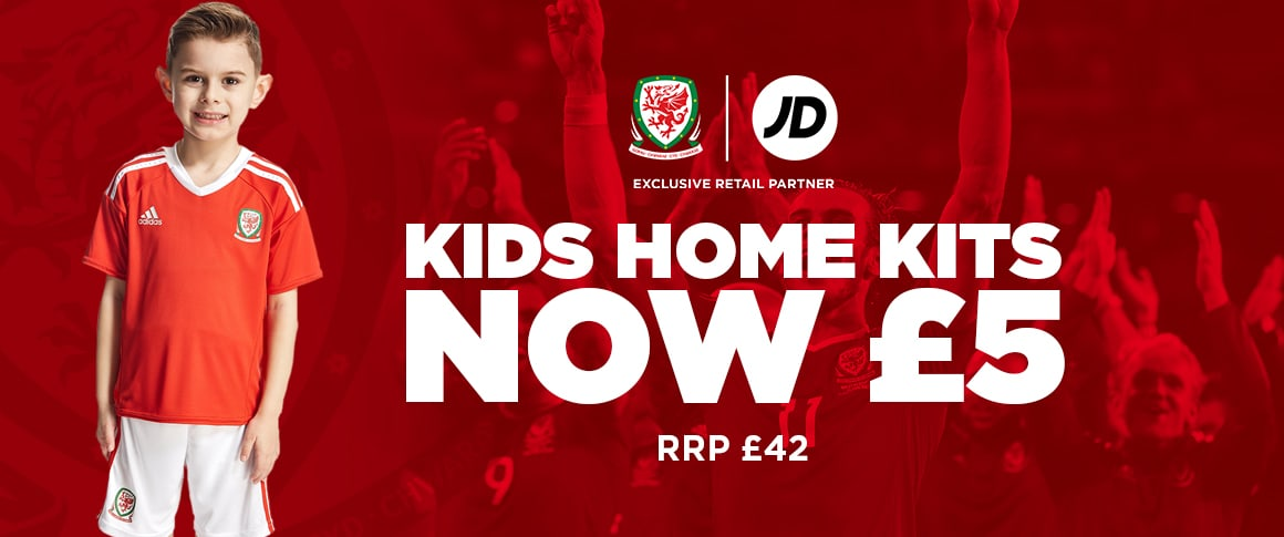 Kids' Wales Home Kit