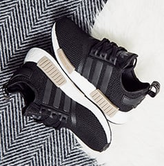 adidas NMD R1 Wool Heel Black Grey Available Now