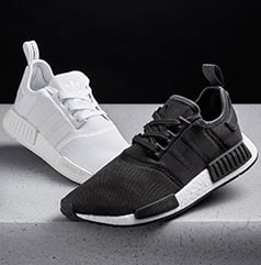 a6e5a56f3f691 adidas NMD R1 monochrome black UK10   US10.5 £120 Depop
