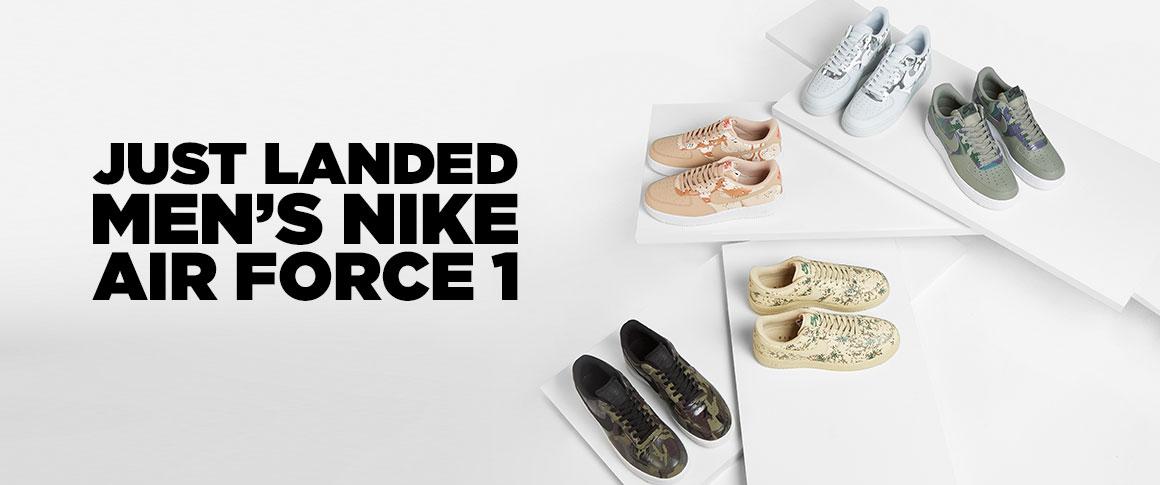 Nike AF1 Camo