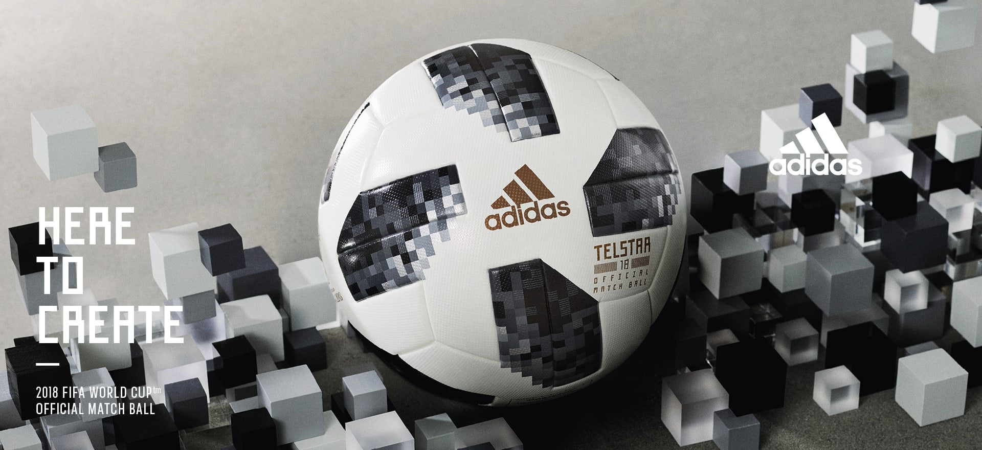 Here to create - 2018 FIFA Official Match Ball