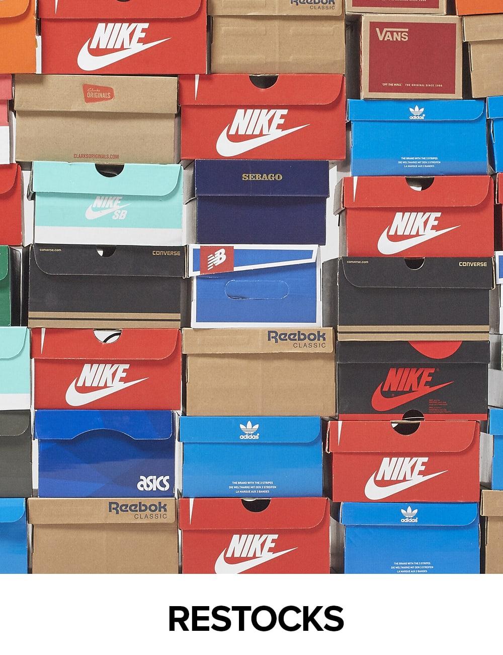 All Brands adidas Originals Nike Reebok Vans Puma Fila Converse Jordan New  Balance