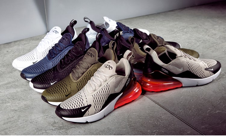 Nike Air Max 270 collection close-up