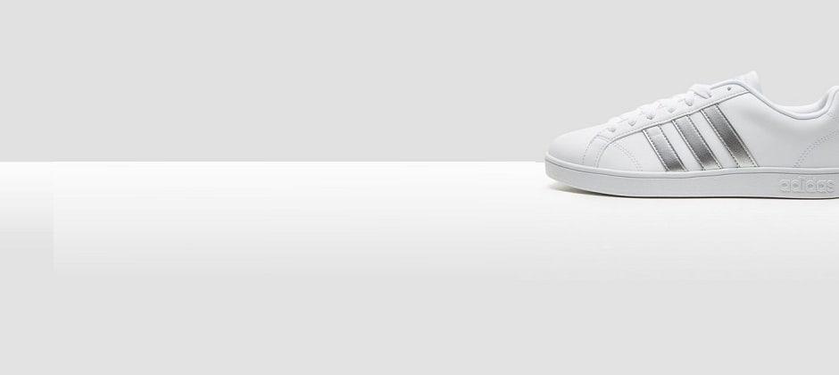 adidas advantage cloudfoam qt sneakers wit dames
