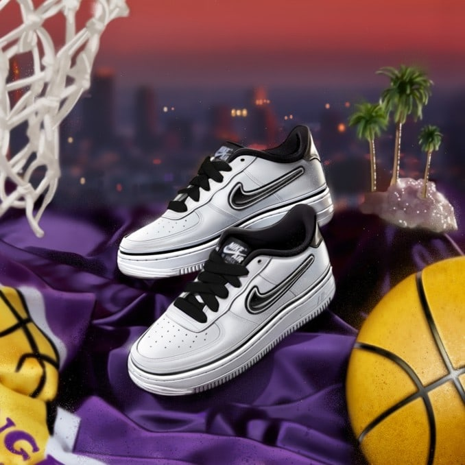 Nike Air Force 1 'NBA' blancas