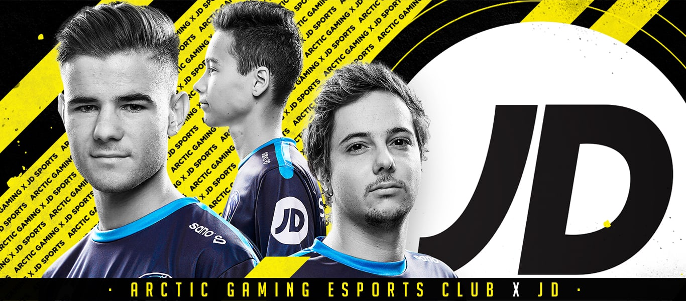 Alianza entre JD Sports España y Arctic Gaming