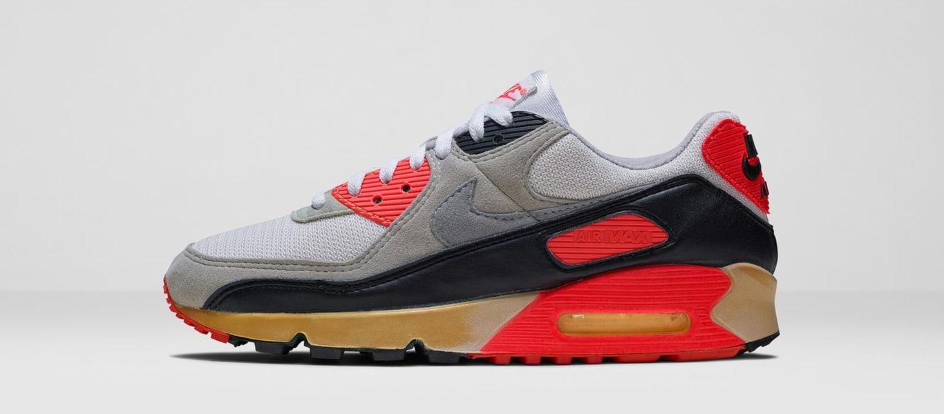 Las primeras zapatillas Nike Air Max 90 OG Infrared