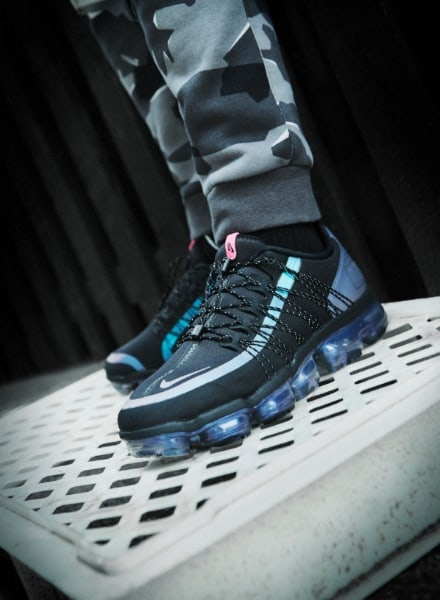 collezione nike throwback future:air vapormax run utility