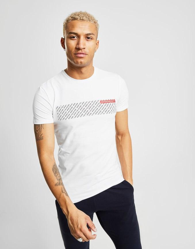 Camiseta blanca de Antony Morato