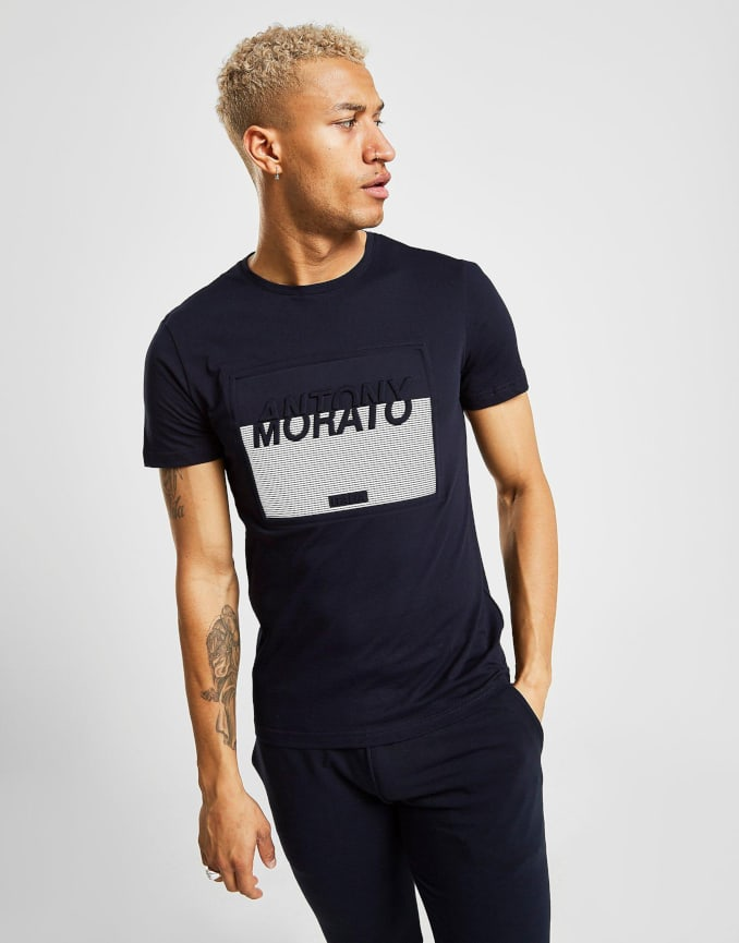 Camiseta azul marino de Antony Morato