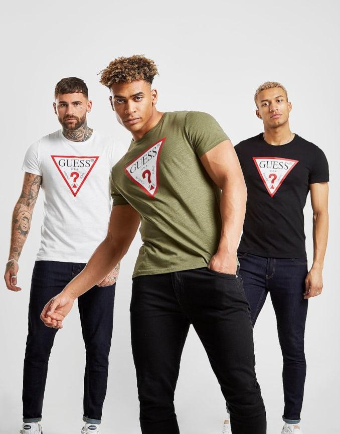 Camisetas de Guess para hombre