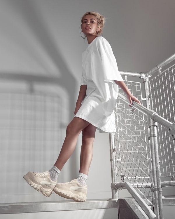Buffalo London zapatillas beige mujer 2