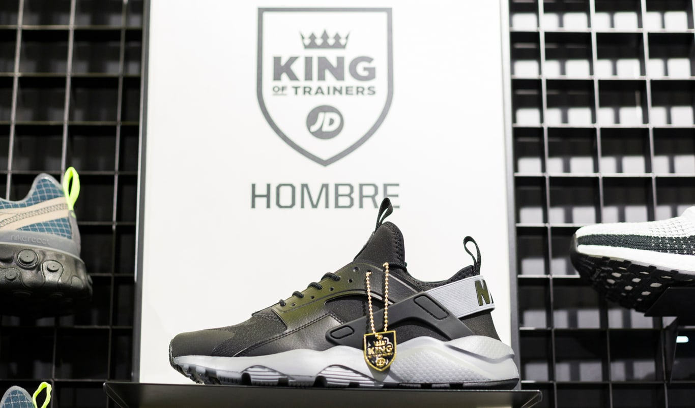 Nike Huarache exclusiva de JD