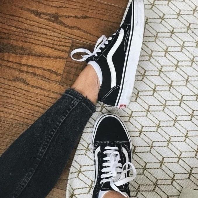 Vans Old Skool on feet