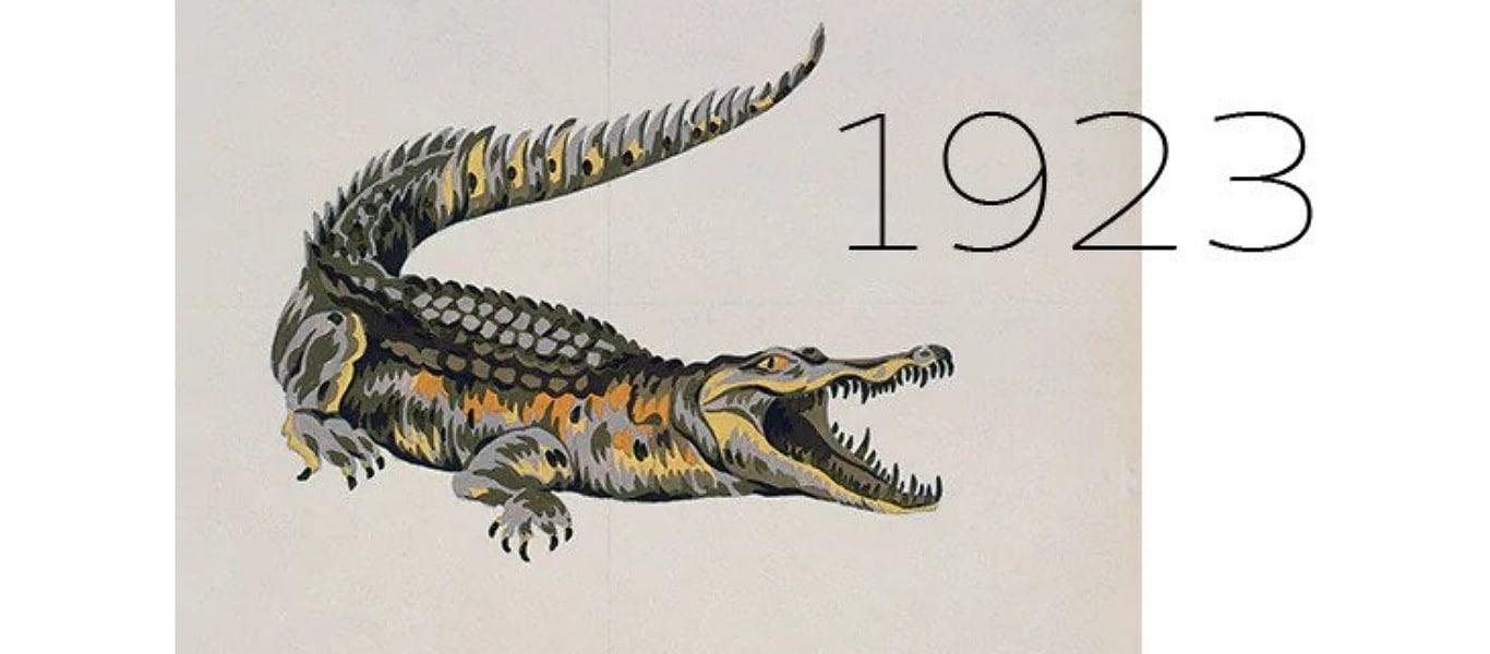 Logo Lacoste cocodrilo