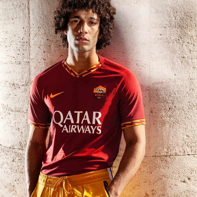 Equipación 2019 del AS Roma