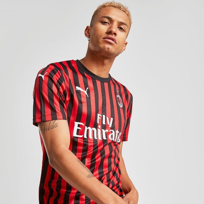 Primera equipación AC Milan 2019-20
