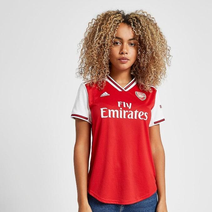 Primera equipación 2019-20 del Arsenal FC para mujer