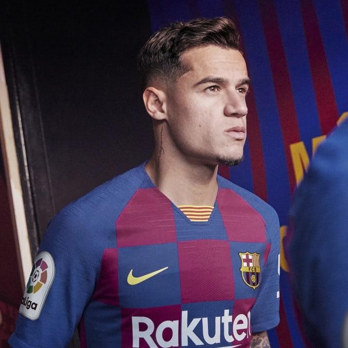 Primera equipación 2019-20 del FC Barcelona