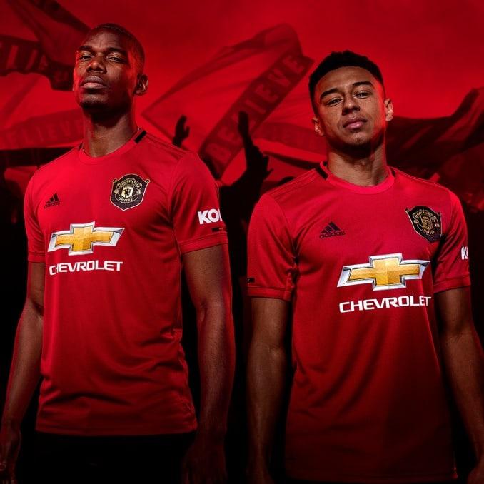 Equipación 2019 del Manchester United