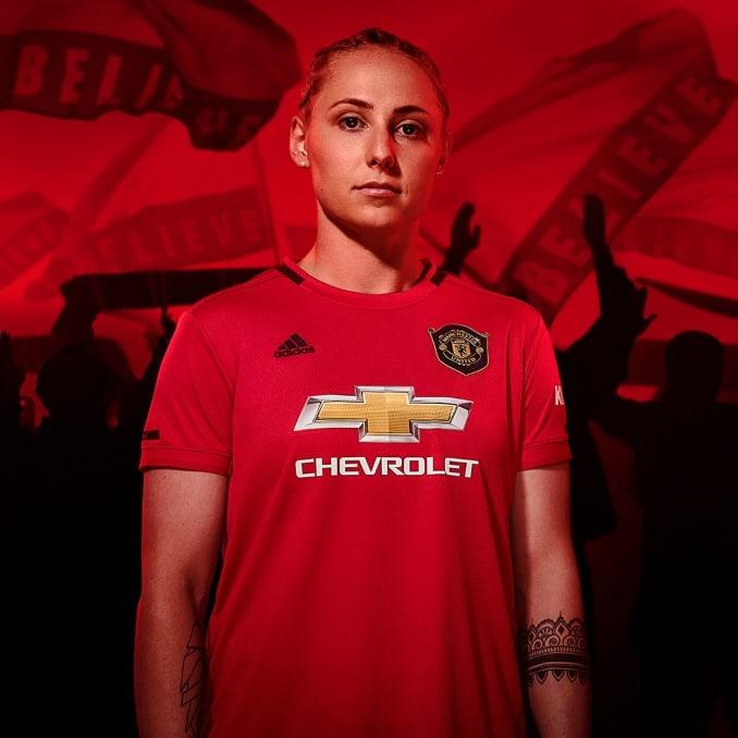 Camiseta del Manchester United para mujer