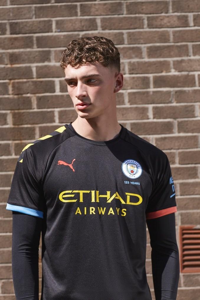 Camiseta de la segunda equipación 2019-2020 del Manchester City x Puma para hombre
