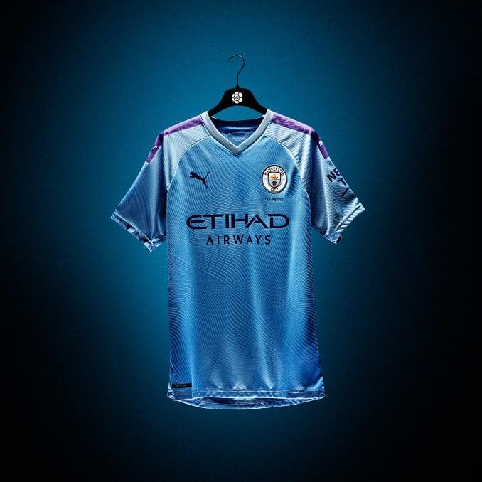 Prototipo de la nueva camiseta del Manchester City de PUMA
