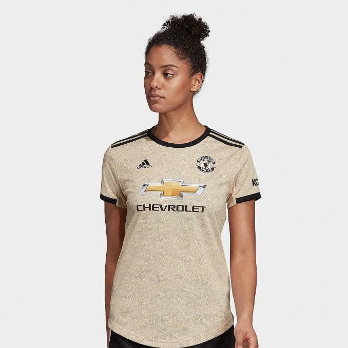 Camiseta de la segunda equipación del Manchester United para mujer