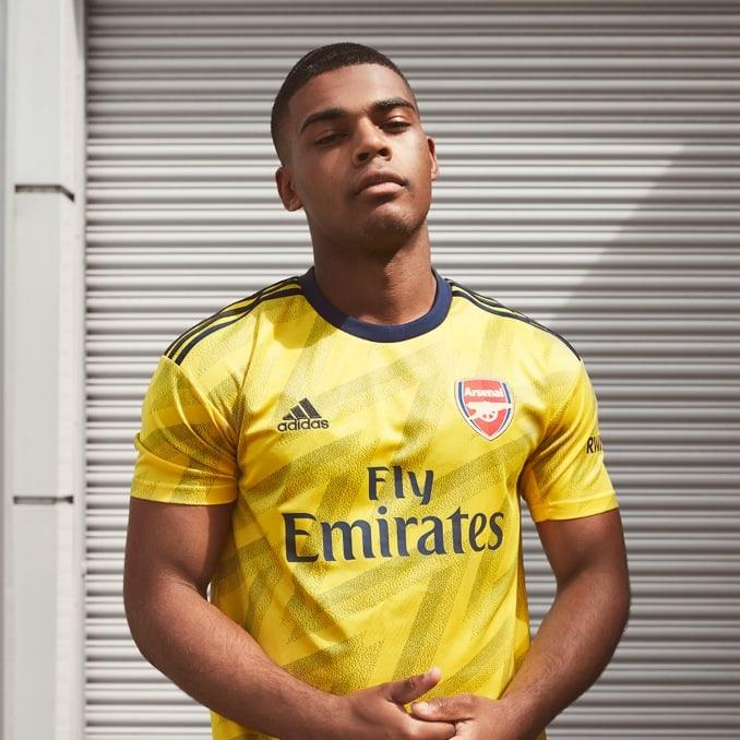 Segunda equipación 2019-20 del Arsenal FC para hombre
