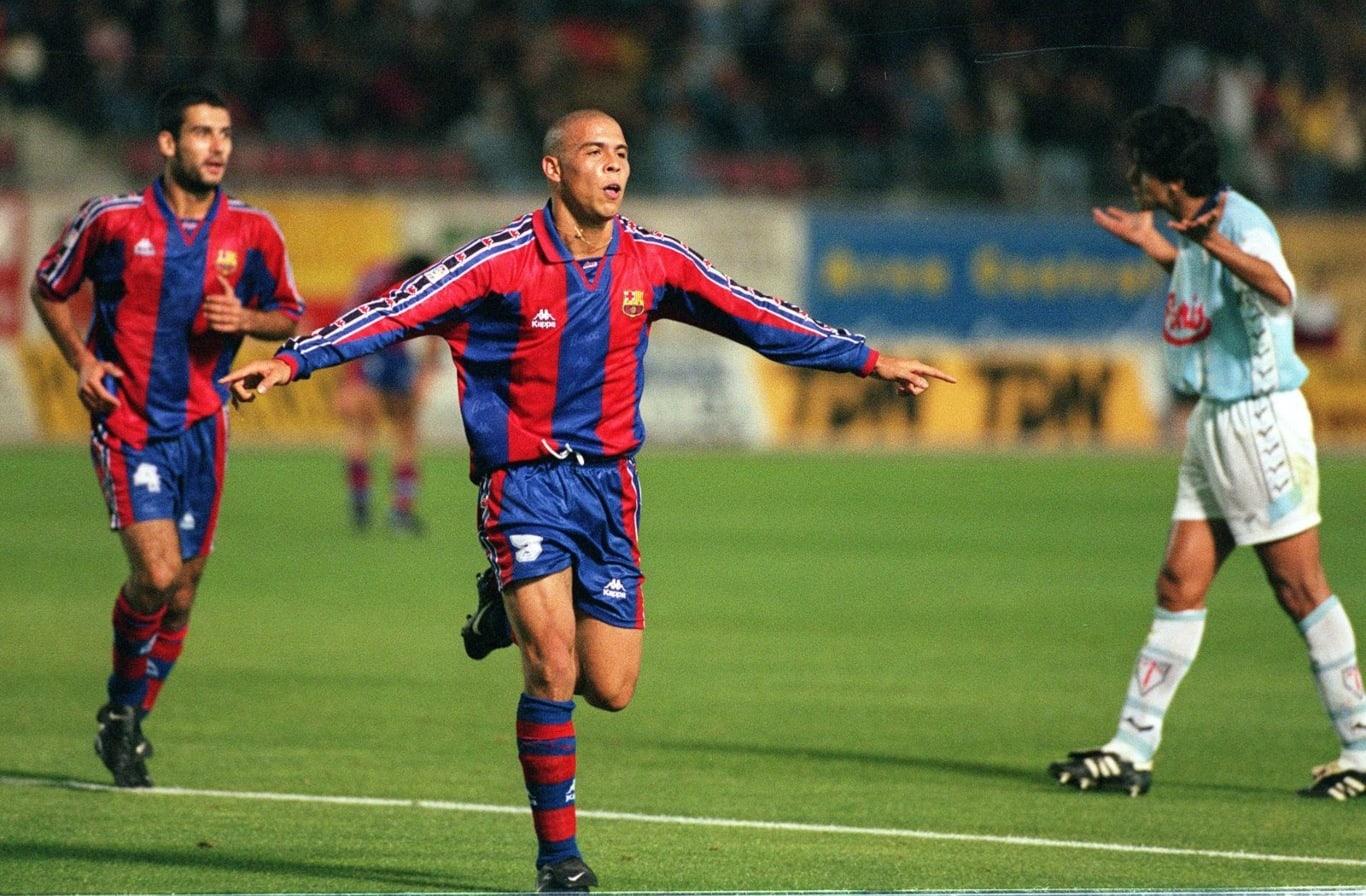 Ronaldo como jugador del FC Barcelona