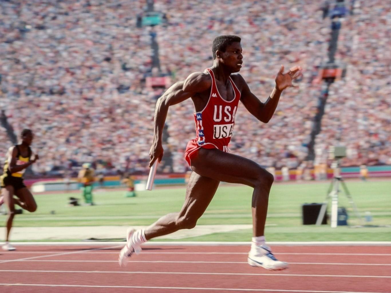 Atleta de Estados Unidos en los Juegos Olímpicos de 1984