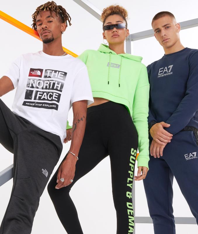 Outfits para clase con estilo deportivo para hombre y mujer