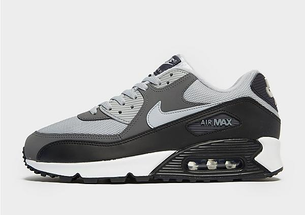 Nike Air Max 90 en negro y gris