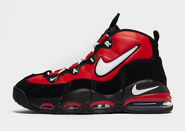 Nike Air Max Uptempo en rojo y negro