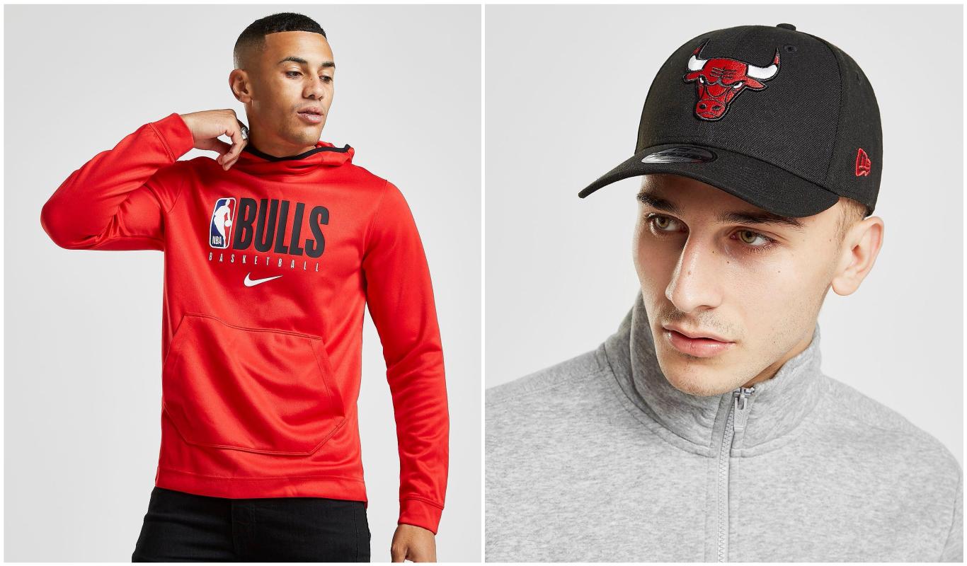 Sudadera y gorra de Chicago Bulls