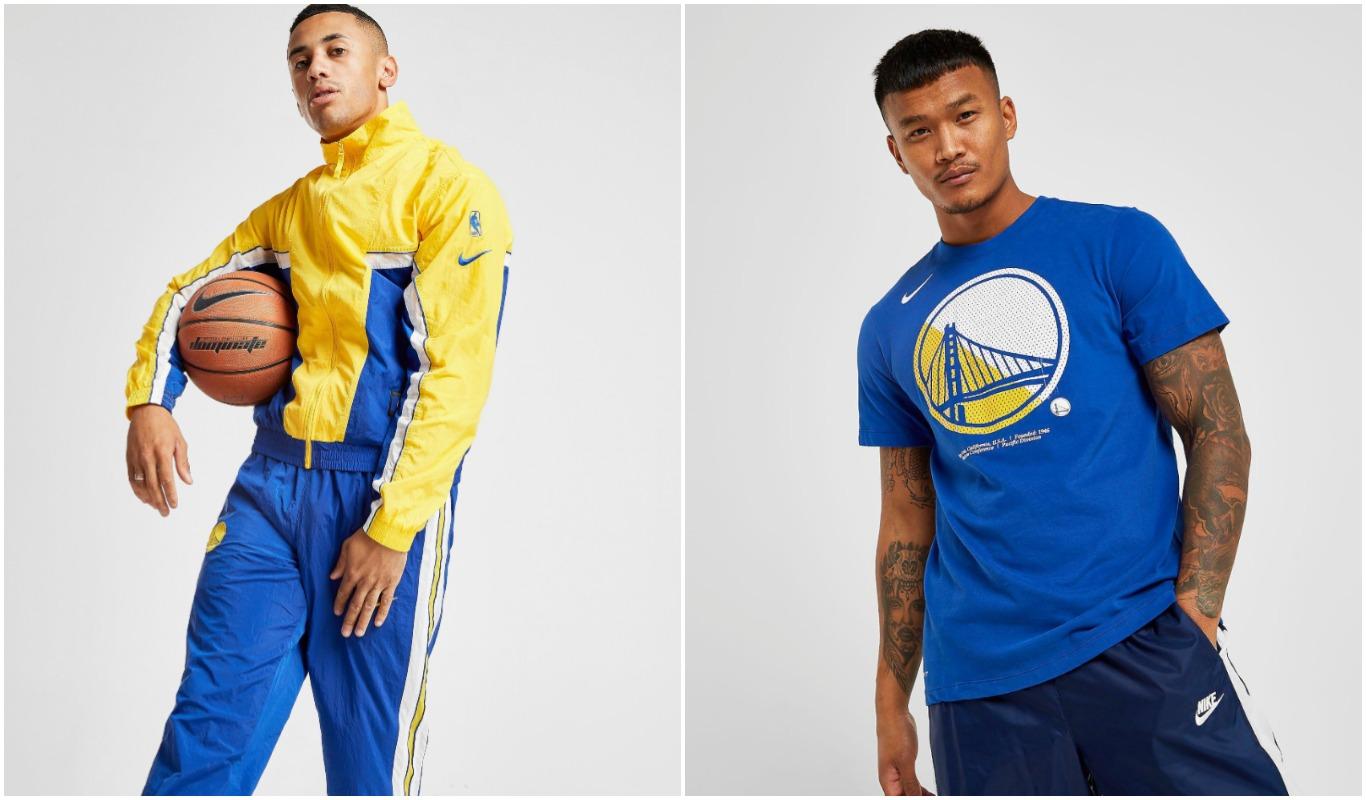 Chándal y camiseta casual de Golden State Warriors