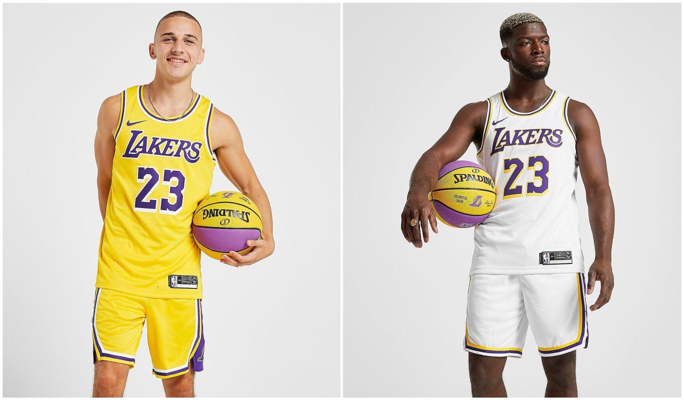 Equipaciones de Los Angeles Lakers para la NBA 2020