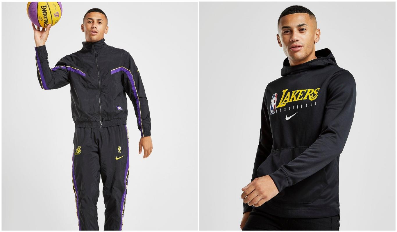 Ropa streetwear de LA Lakers