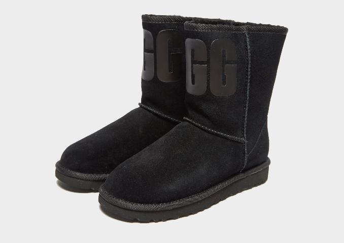 Botas UGG negras altas de mujer