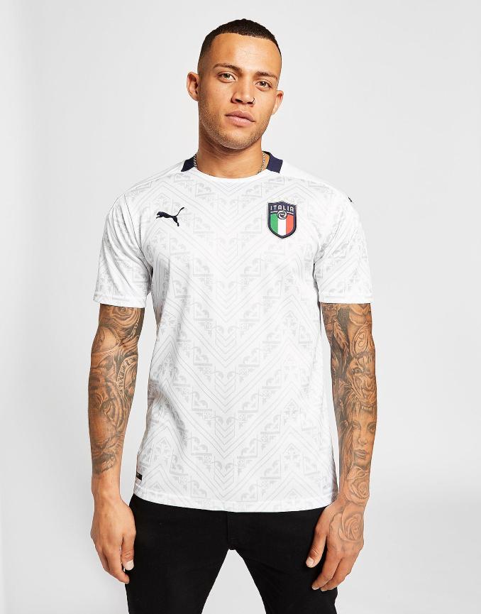 Segunda equipación de Italia para la Eurocopa 2020