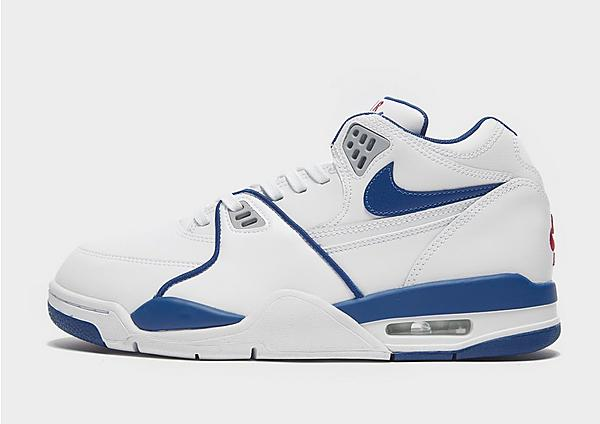 Nike Air Flight 89 blancas y azules