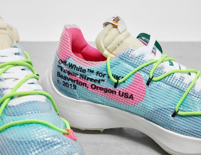Detalle de las Nike Vapor Street x Off-White