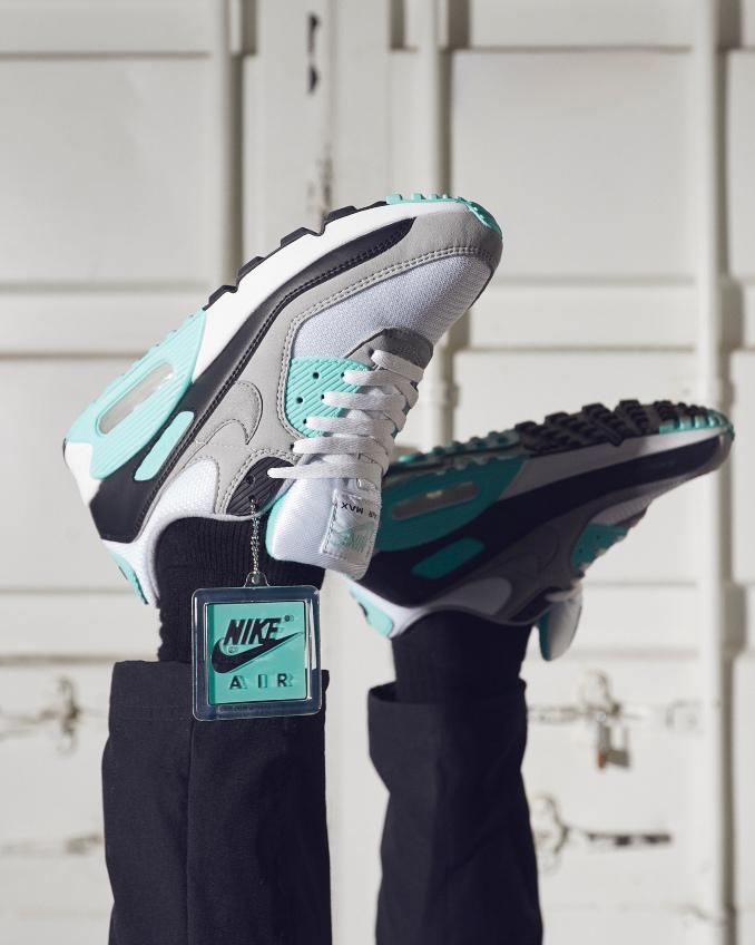 Nike Air Max 90 turquesa