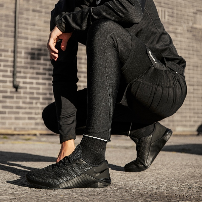 Nike Metcon on feet