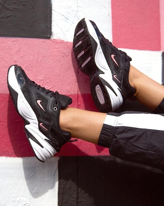 Nike M2K Tekno on feet