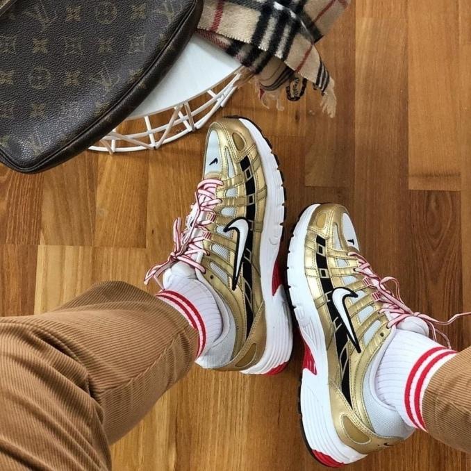 Nike P-6000 золото