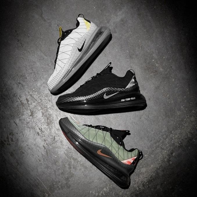 Nike Air Max 720-818 em várias cores